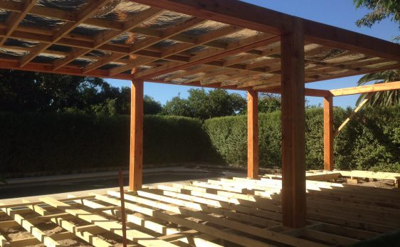 Building Timber Patio Deck