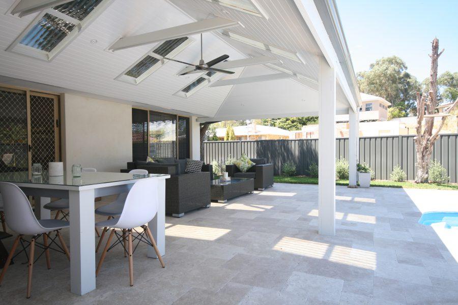 skillion patio roof