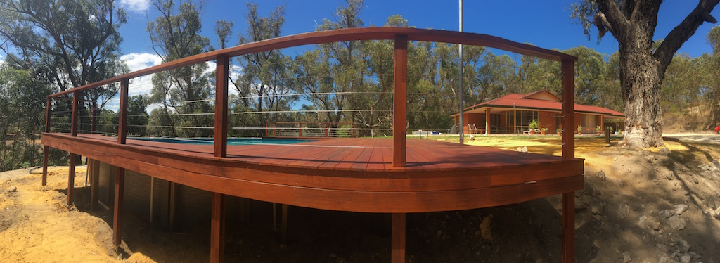 Above Ground Pool Deck 3