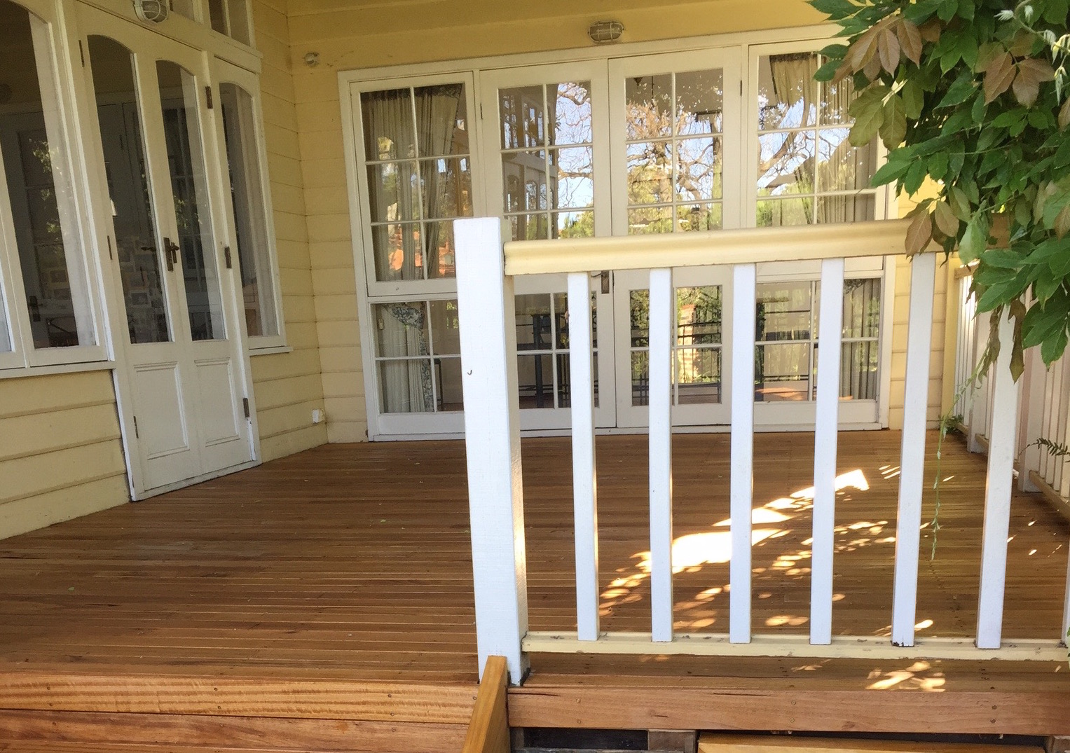 design & restore an ailing alfresco deck