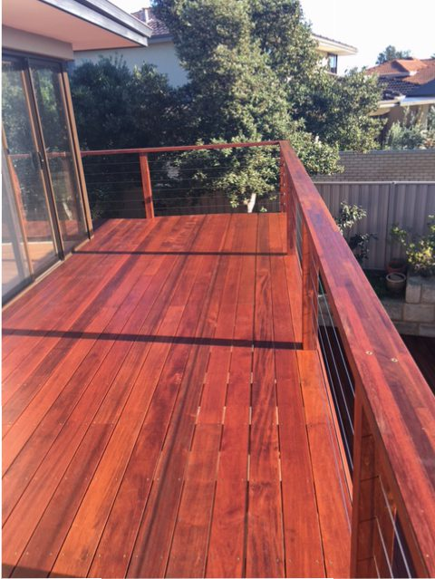 Timber balcony deck 4