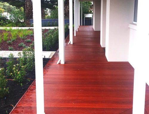 Old Fashion Verandah for Modern Home