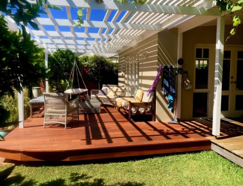 Modern Hamptons Style Pergola