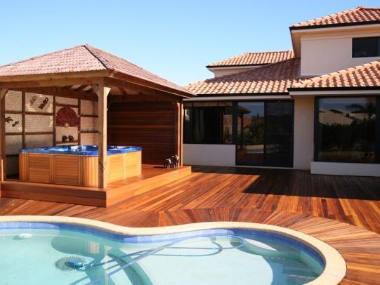 pool decking prices